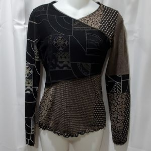 ANAC designed by Kimi long sleeve blouse Size S